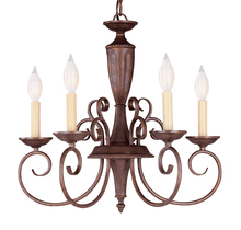 Savoy House KP-1-5005-5-40 - Liberty 5 Light Chandelier