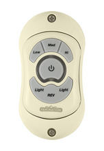 Fanimation TR20LA - HAND HELD TRANSMITTER (3-SPEED/REV/DL): LIGHT ALMOND